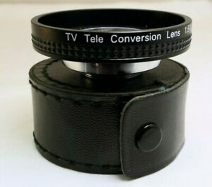 1-5-X-TV-Extender-Objektiv-fuer-Linsen-25-4mm-Threads