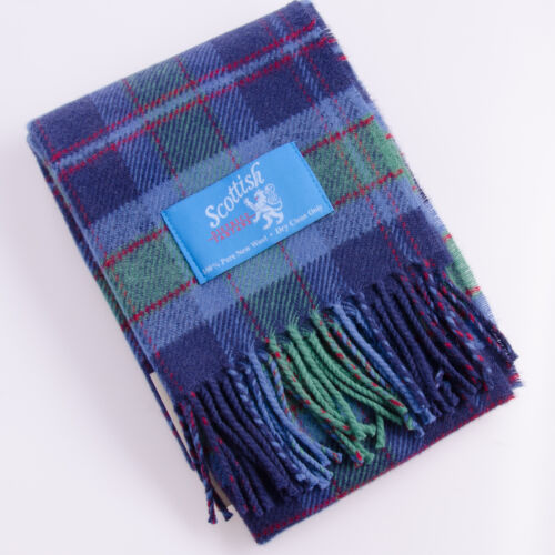 Grampian Modern District Tartan Scarf//Scarves