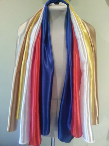 100 WHOLESALE mixed colors ONLY £95 eta elvis tribute jumpsuit scarves  stocked