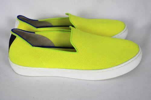 Rothys ELECTRIC LEMON Slip On Yellow Loafers Sneak
