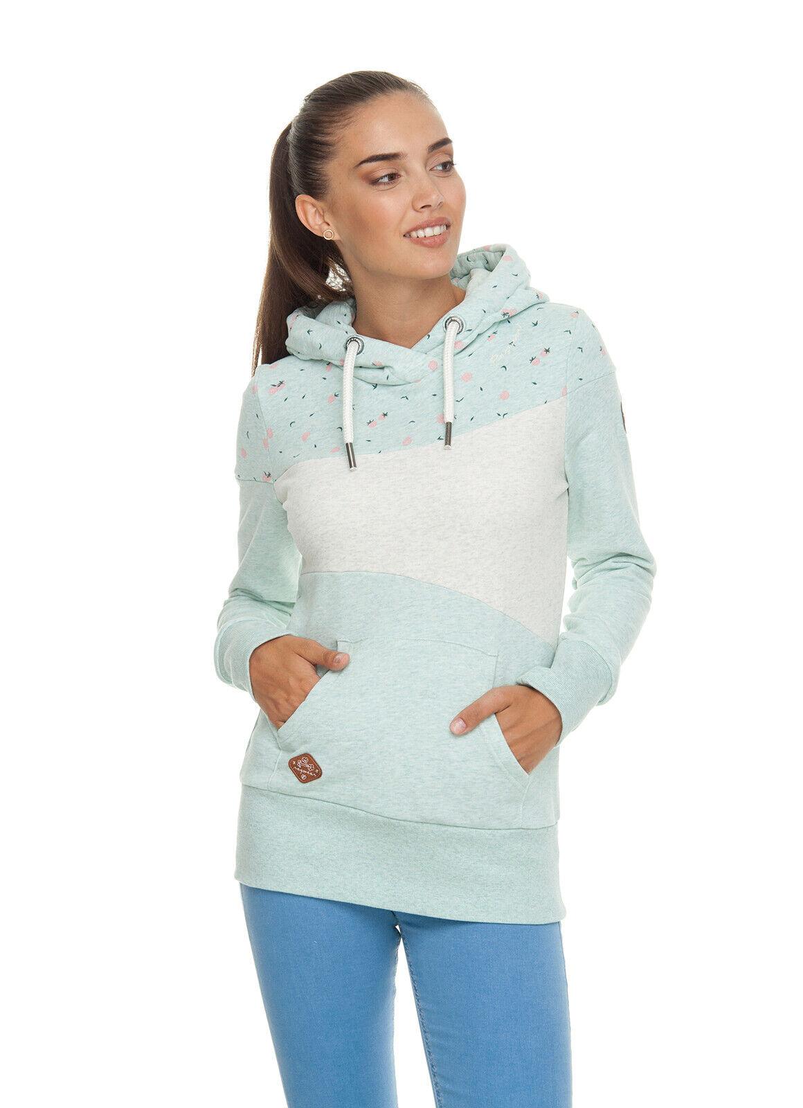 Ragwear Nuovo Collezione So 19 Sweatshirt Felpa con Cappuccio Tarsa Luminoso