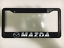 MAZDA 3 6 CX 5 9 MX 5 ZOOM ZOOM AUTO CAR SUV Black License Plate Frame NEW