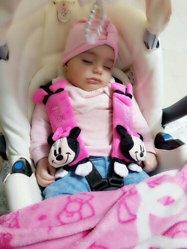 Cartoon Car Sefety Seat Belt Cover Child isofix Seat Belt Shoulder Pads Protect