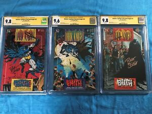 Batman-Legends-of-the-Dark-Knight-21-23-set-DC-CGC-SS-9-8-9-6-Sig-by-Sears
