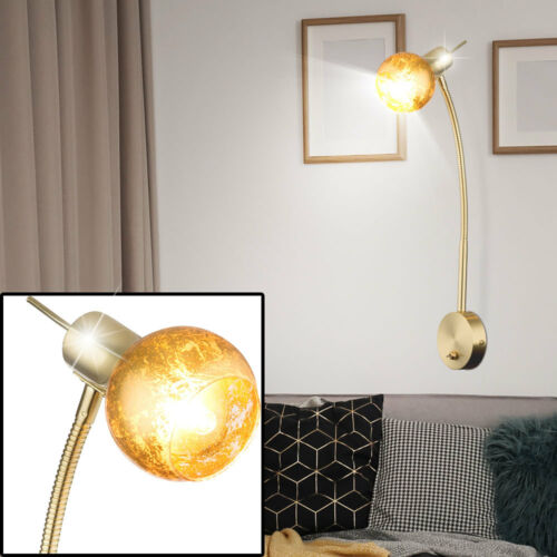 Decken GOLD Messing Pendel Hänge Steh Stand Tisch Wand Spot Lampe Design Leuchte