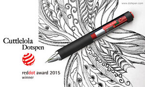 CuttleLola-Dotspen-the-World-039-s-First-Electric-Drawing-Pen-Red-Dot-Award-Winning