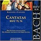 Johann Sebastian Bach - Bach: Cantatas, BWV 75, 76 (1999)