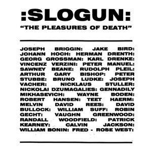 SLOGUN-034-THE-PLEASURES-OF-DEATH-034-1997-2-LPS-2019-NYC-TRUE-CRIME-ELECTRONICS
