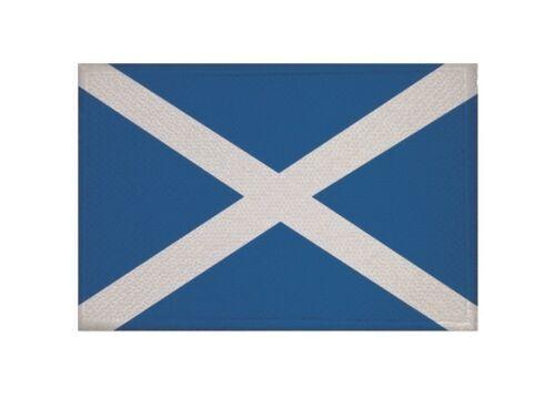 Aufnäher Schottland Fahne Flagge Aufbügler Patch 9 x 6 cm