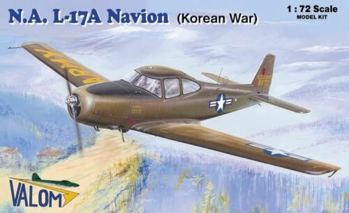 RYAN N.A VALOM 1//72 PLASTIC KIT KOREAN WAR L-17A NAVION