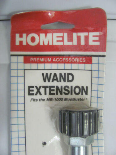"""NEW HOMELITE A-03121 Pressure Washer Wand Extension 22/"""" For MB-1000 Mudbuster"""