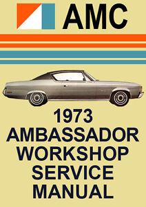 amc ambassador workshop manual ebay rh ebay com AMC Rambler AMC Javelin