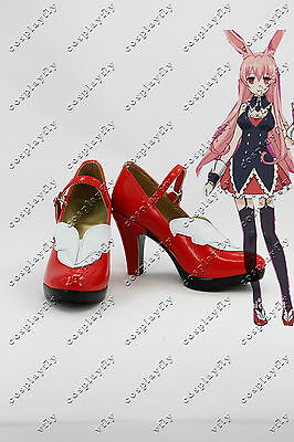 Problem Children are Coming from Another World Cosplay Black Rabbit Red Shoes