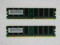 2gb (2x1gb) Memory For Soltek Qbic Eq2000m Eq2000w Eq3000m Eq3000w Eq3401 Eq3402