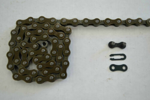 "COLORED 116 Link YABAN SINGLE SPEED Bicycle Bike Chain 1//2/""x1//8/""x116L"