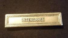 A0344 - Agrafe barrette INTENDANCE pour Médaille militaire French Medal clasp