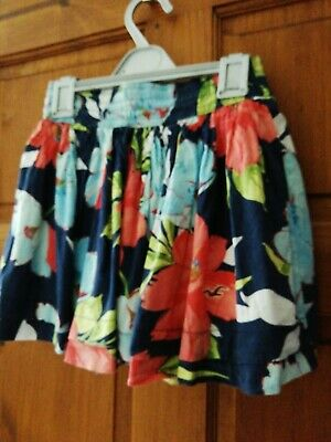 Trend Mark Hollister California Floral Skirt Xs Skirts