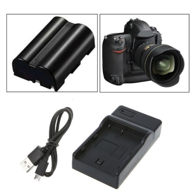 en EL3 USB Chargeur pour Nikon D100, D100 SLR, D200, D300