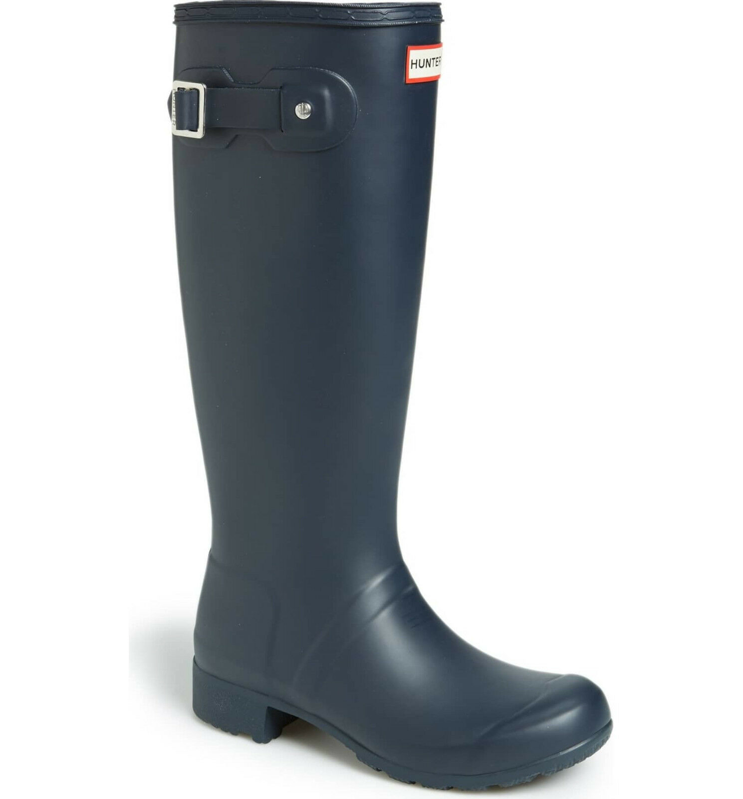 Hunter Original bottes Navy Matte Tall Packable Rain bottes New Authentic