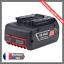 Batterie-Pour-Bosch-Outils-Pro-18V-50Ah-Li-ion-BAT-609-610-618-619-620-621-LED miniature 1