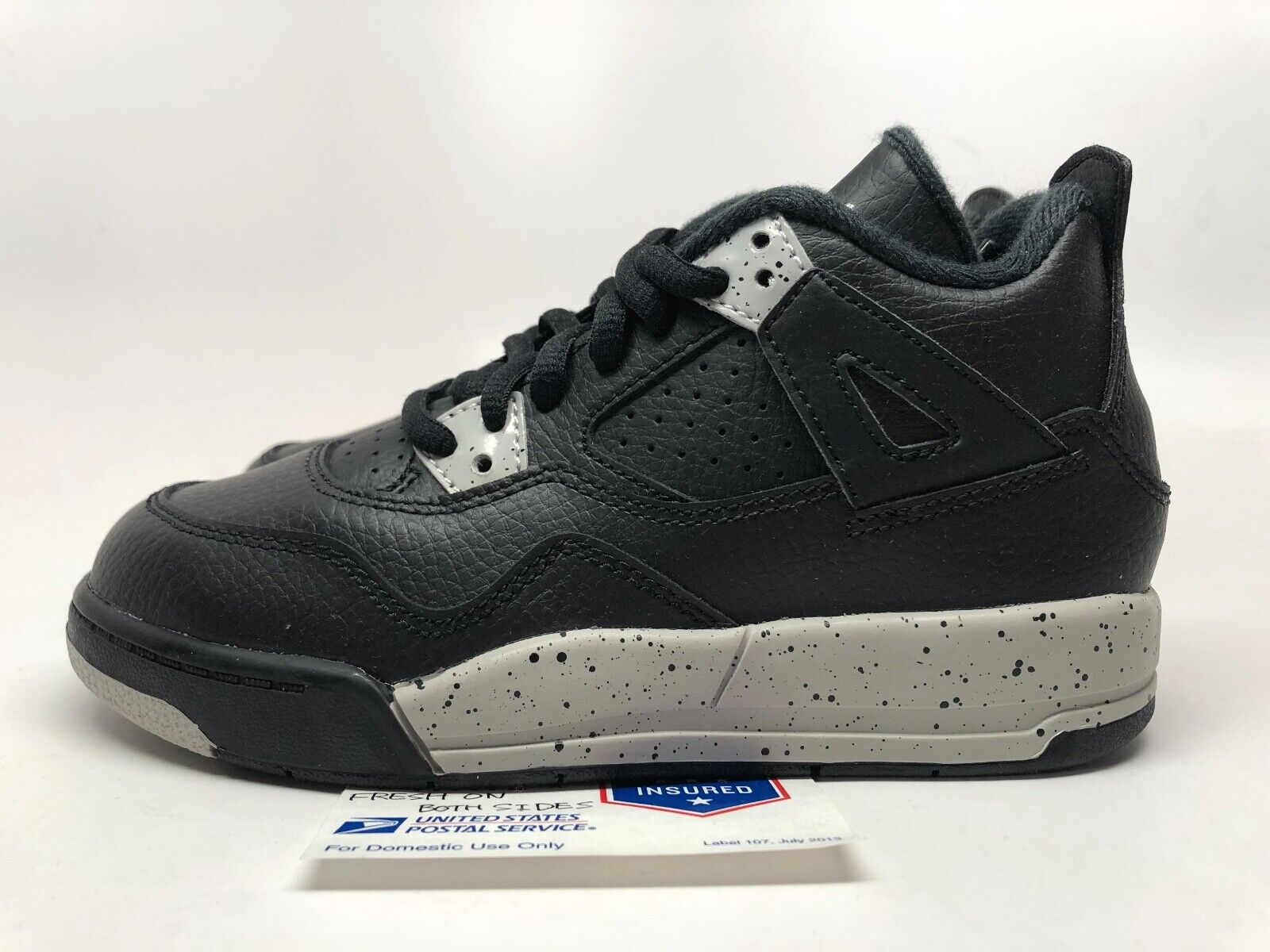 Air Jordan 4 Retro PS 'Oreo' TD sz 12c, 13c New!
