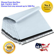 Poly Mailers Envelopes Self Sealing Plastic Mailing Bags Size 6x9 75x105 10x13