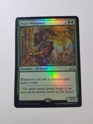 Guilds of Ravnica Magic//mtg Beast Whisperer FOIL Rare