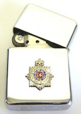 RCT ROYAL CORPS OF TRANSPORT BADGED  WINDPROOF CHROME PLATED LIGHTER