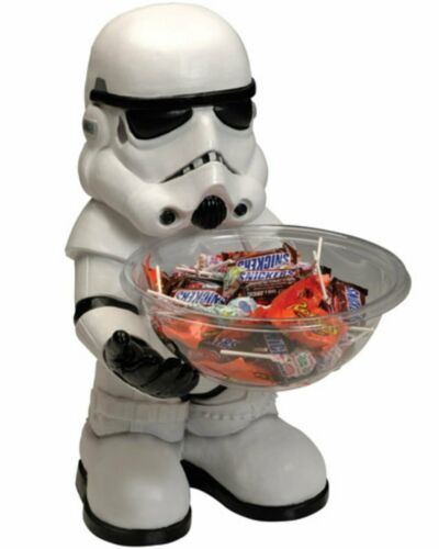 A643 Stormtrooper Star Wars Figure Candy Bowl Holder Decoration Christmas Gift
