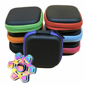 1PC-For-Fidget-Hand-Spinner-Triangle-Finger-Toy-Focus-ADHD-Autism-Bag-Box-Case-U