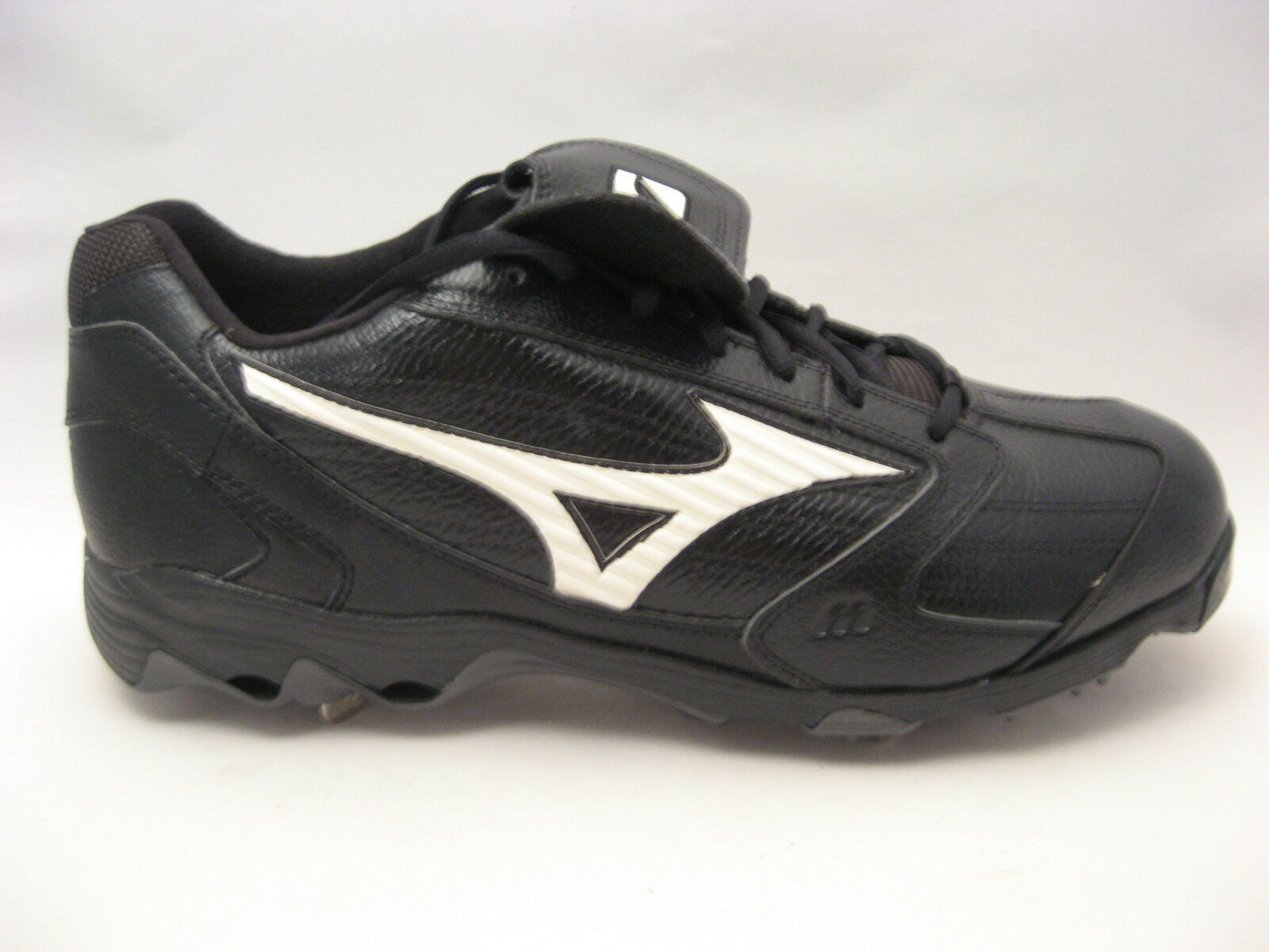 Mizuno Spike hommes 9 Spike Mizuno Classic G4 Low Baseball Cleats 15 noir Metal Spike Pro NEW 1b93a9