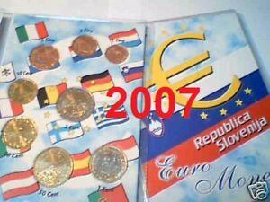 2007-SLOVENIA-8-monete-3-88-EURO-fdc-slovenie-slovenja-Slowenien