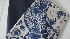 Canvas-Baumwolle Leinenoptik Streifen 50 x 140 cm