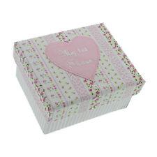 Petit Cheri - Baby Mädchen Rosa First Shoes Andenken Geschenk Box