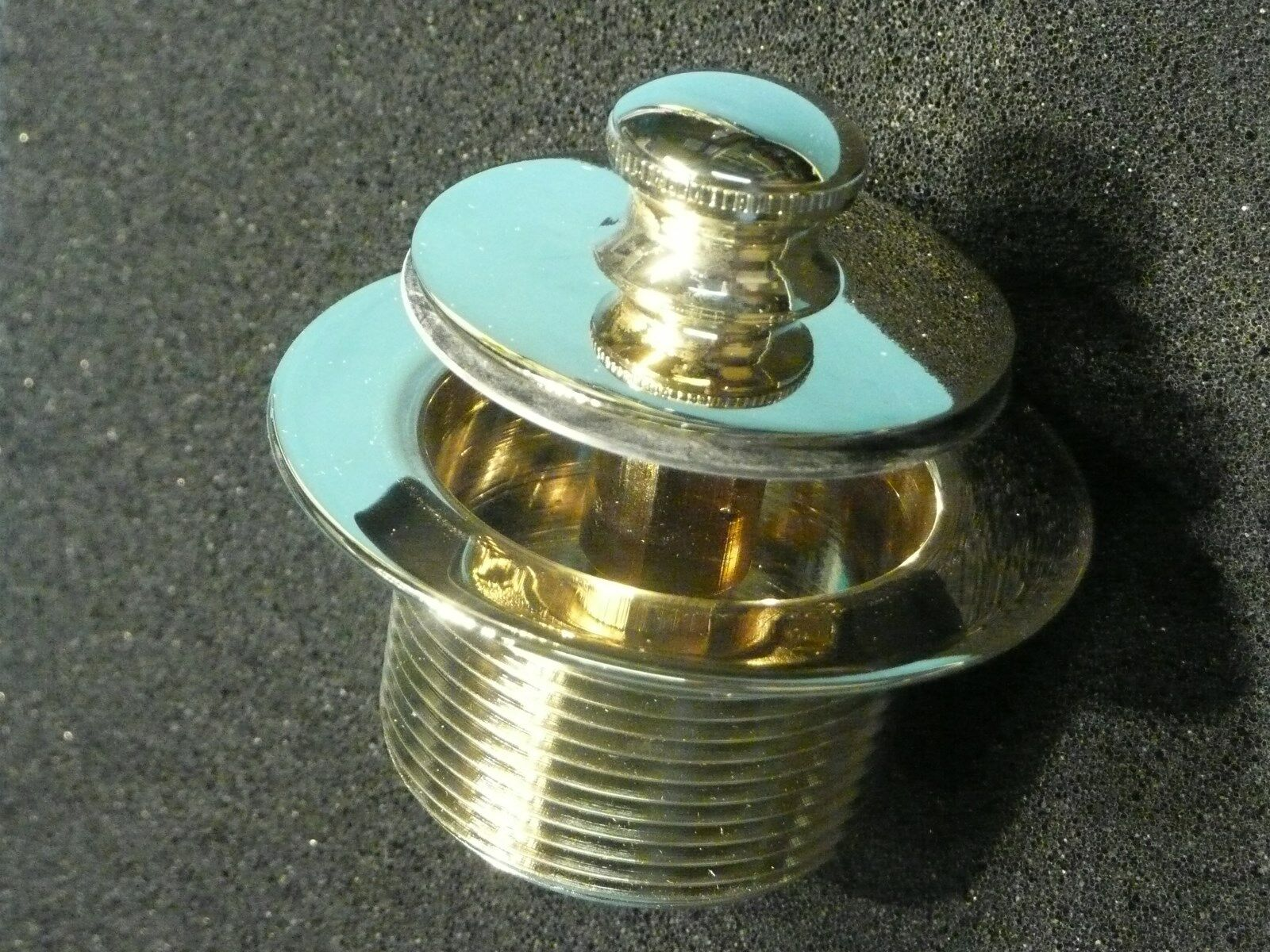 Watco Push Pull Tub Closure 38305 ANTIQUE BRASS TUB Drain Brass