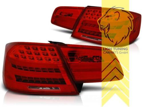 Light Bar LED Rückleuchten Heckleuchten für BMW E92 Coupe rot weiss chrom