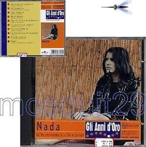 NADA-034-GLI-ANNI-D-039-ORO-034-RARO-CD-1997-SIGILLATO-VERSIONI-ORIGINALI