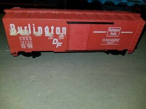 BURLINGTON-FREIGHT-CAR-NON-OPERATING-CB-amp-Q-19720-HO-SCALE