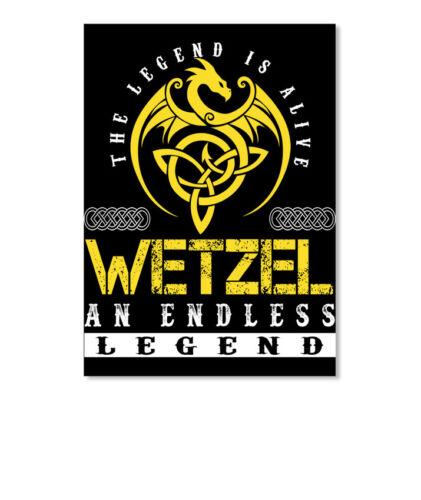 Portrait Long-lasting Wetzel An Endless Legend The Is Alive Sticker Sticker