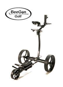 beegon elektro golf trolley gt x600 pro black edition 25. Black Bedroom Furniture Sets. Home Design Ideas