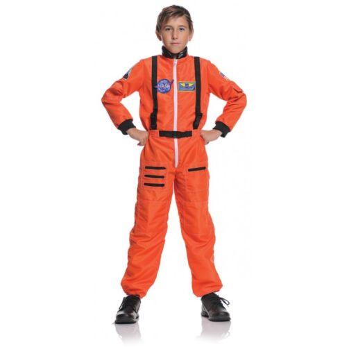 Underwraps Astronaut Orange Nasa USA Space Child Boys Halloween Costume 26981