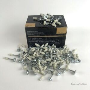 200pcs Round Steel Nail For Rivet Gun Tool Concrete Wall Anchor Grooving Device