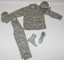 1/6 Scale / Custom Bandit Joes US Air Force USAF Airman Battle Uniform ABU Set