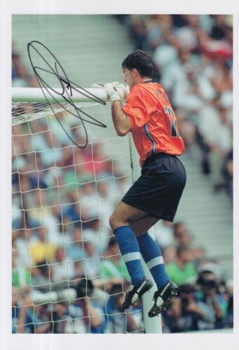 ITALY HAND SIGNED GIANLUCA PAGLIUCA 12X8 PHOTO.