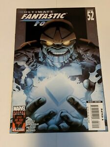 Ultimate Fantastic Four #52 May 2008 Marvel Comics Carey Kirkham Regla Blond