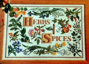 Cross-Stitch-Pattern-HERBS-and-SPICES-Sampler