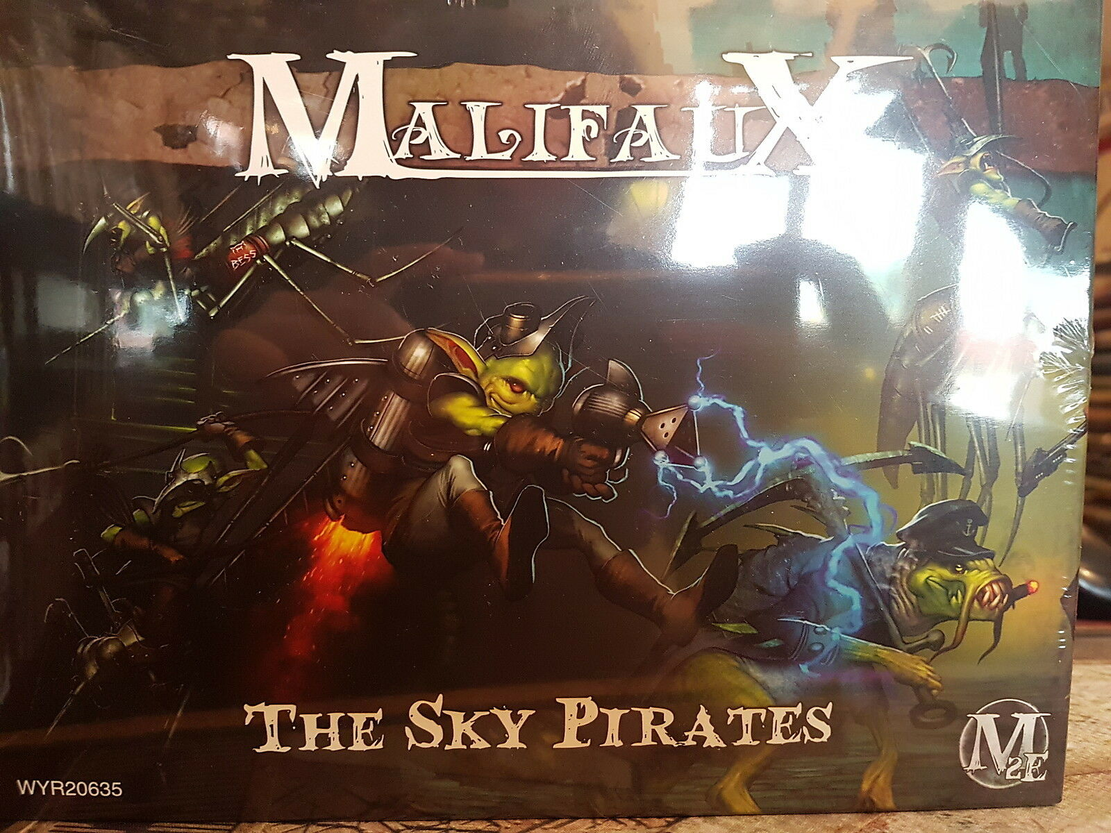MALIFAUX 2E THE SKY PIRATES  - NEW AND SEALED