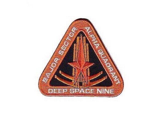 Star Trek ecusson Deep Space nine Bajor Sector Star trek patch
