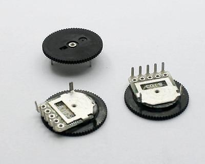 20pcs B10K 10K Disc type Linear Dual Taper Rotary potentiometer RC1001-02