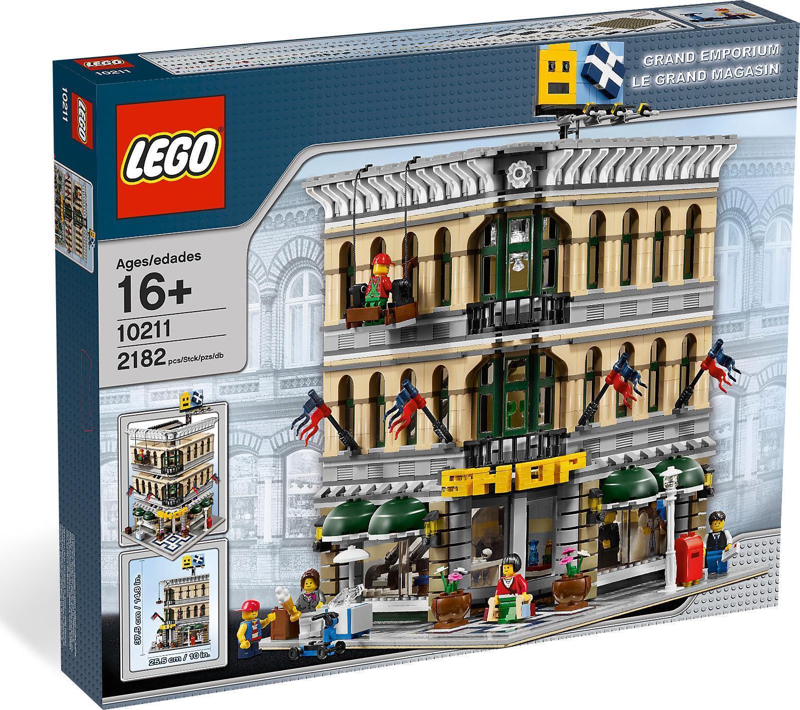 Lego Sammler modulare Schöpfer 10211 - Grand EMPORIUM Neu Neu Neu versiegelt seltene 73f130